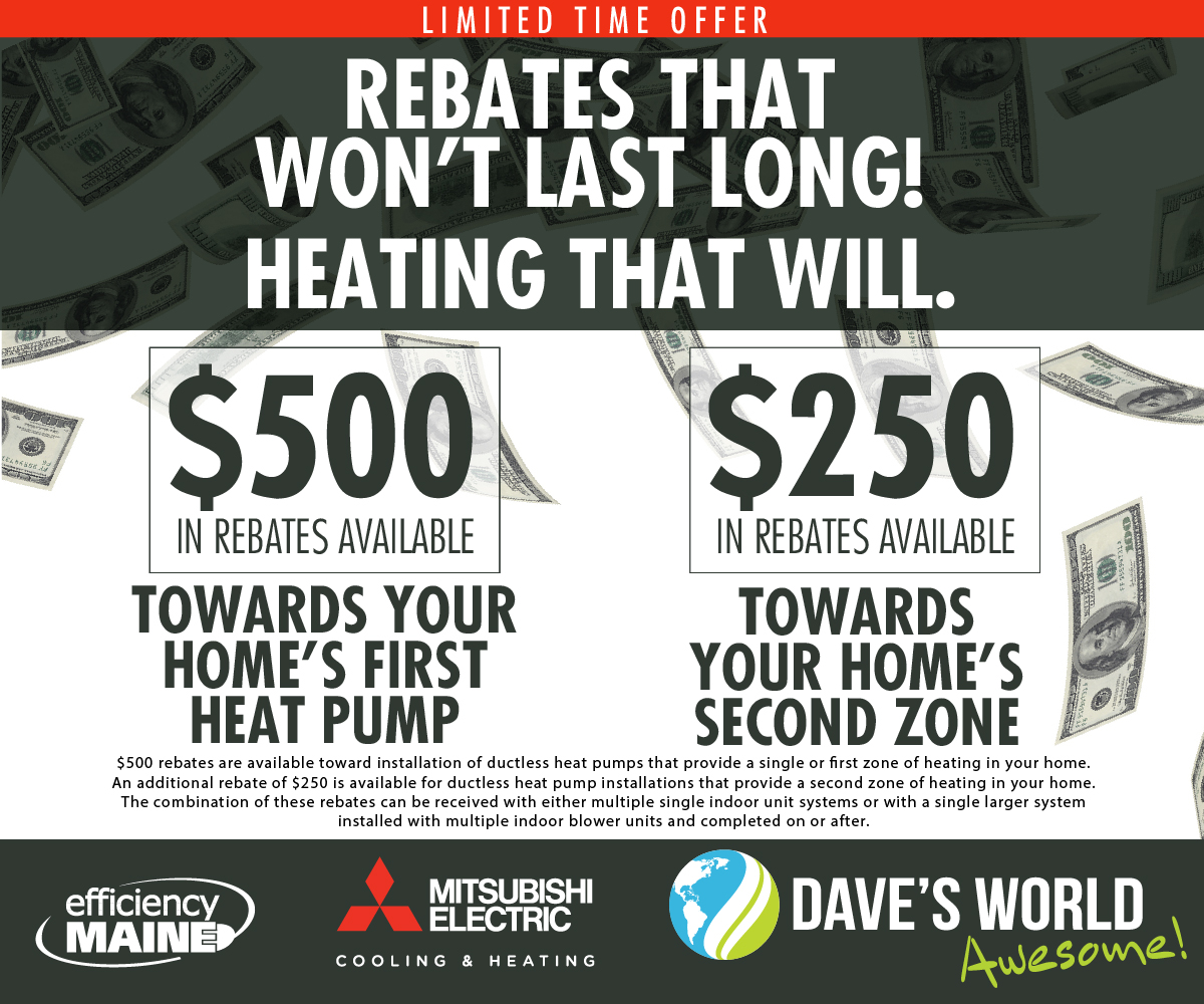 Heat Pump Rebates from Efficiency Maine
