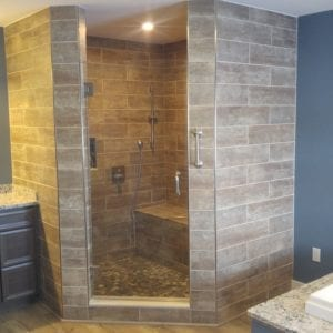 Custom Bathroom Tile in Maine